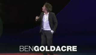 Ben Goldacre en TED habla de información escondida
